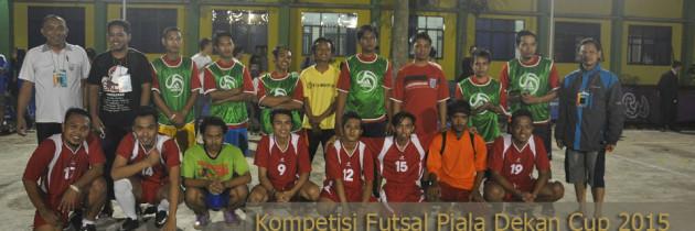 Pertandingan Futsal Dokar Vs DKK Berlangsung Heroik
