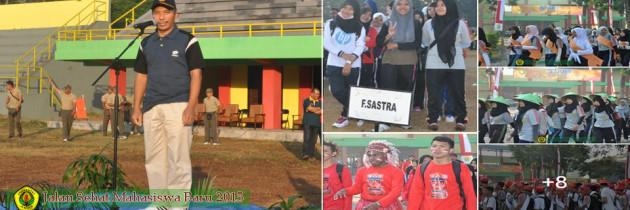 Jalan Sehat Maba 2015 Mengelilingi Kampus Universitas Jember