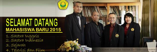 Dekan Fakultas Sastra Menyambut 308 Mahasiswa Baru