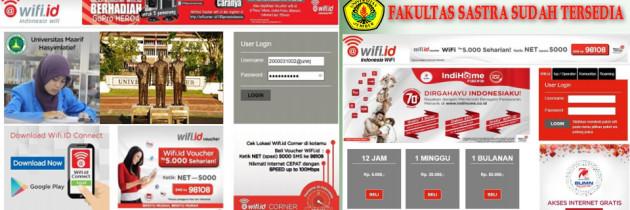 Prosedur Koneksi Internet Menggunakan SSID @wifi.id di Lingkungan Universitas Jember