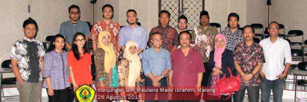 Kunjungan UIN Maulana Malik Ibrahim, Malang