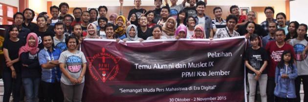 Sinergi Jurnalis Kampus dan Profesional Via Temu Alumni Pers Mahasiswa Jember