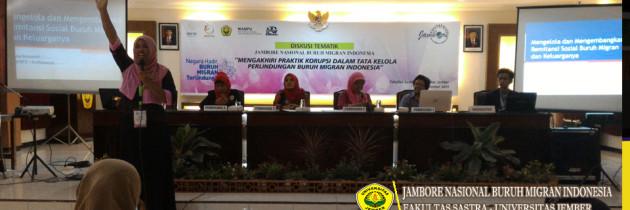 SEMINAR NASIONAL BURUH MIGRAN INDONESIA DI FAKULTAS SASTRA