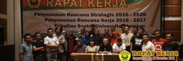 Rapat Kerja Penyusunan Rencana Kerja dan Rencana Strategis