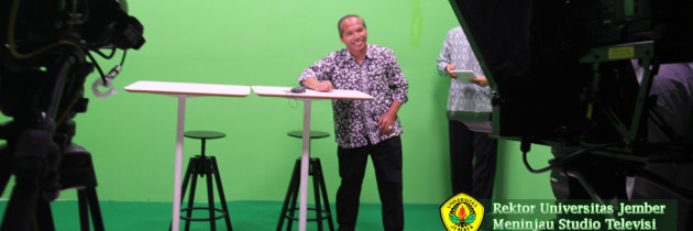 Rektor Universitas Jember Meninjau Studio PSTF