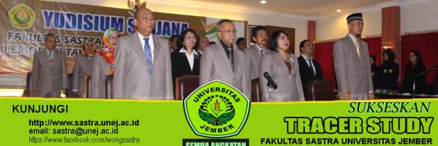 Tracer Study Alumni Fakultas Sastra Universitas Jember