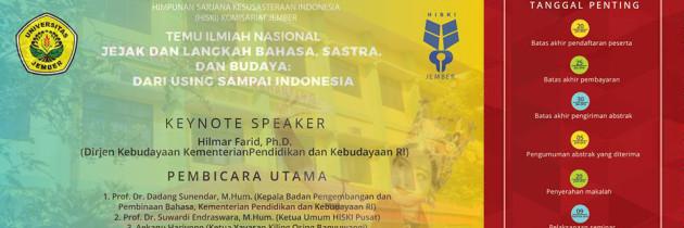 Temu Ilmiah Nasional: Dari Using Sampai Indonesia