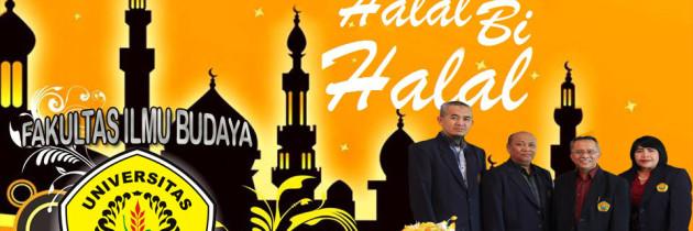 Undangan Halal Bihalal dan Tasyakuran Perubahan Fakultas Ilmu Budaya