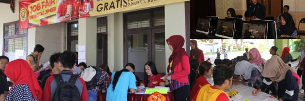 17 Perusahaan Swasta Nasional Berebut Alumni Universitas Jember