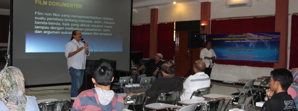 Bulan Bahasa, GP Wiranegara Sumbangkan 5 Film Dokumenter