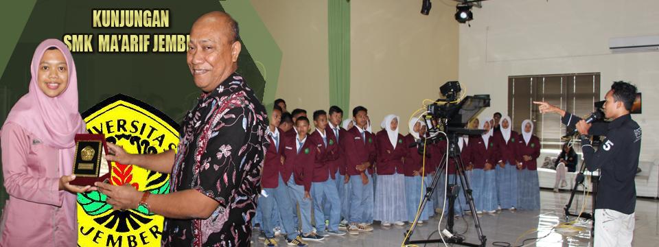 SMK 08 Ma'arif Jember Ingin Berkolaborasi Dengan PSTF