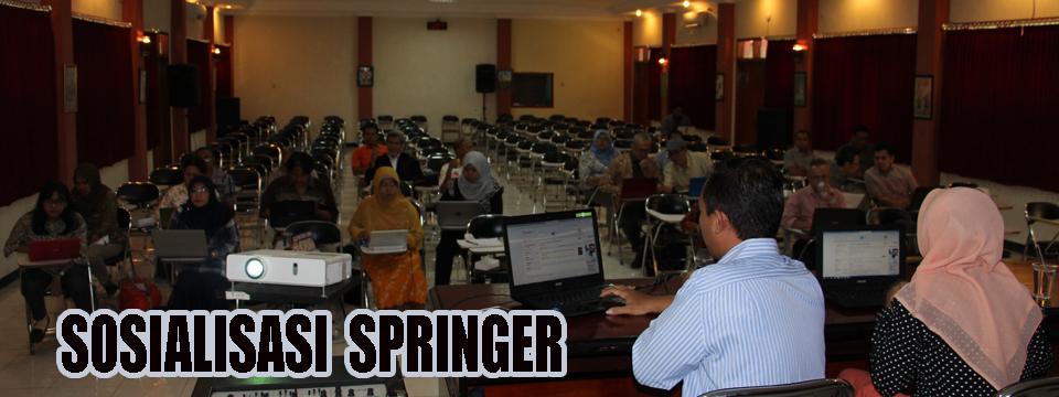 """Penelusuran Buku dan Jurnal Ilmiah Pada """"Springer Link"""" di FIB Belum Maksimal"""