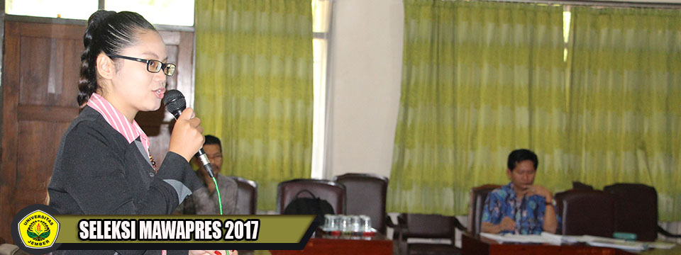 Seleksi Mawapres FIB-UNEJ 2017