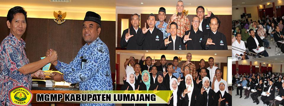 Kunjungan MGMP Kabupaten Lumajang