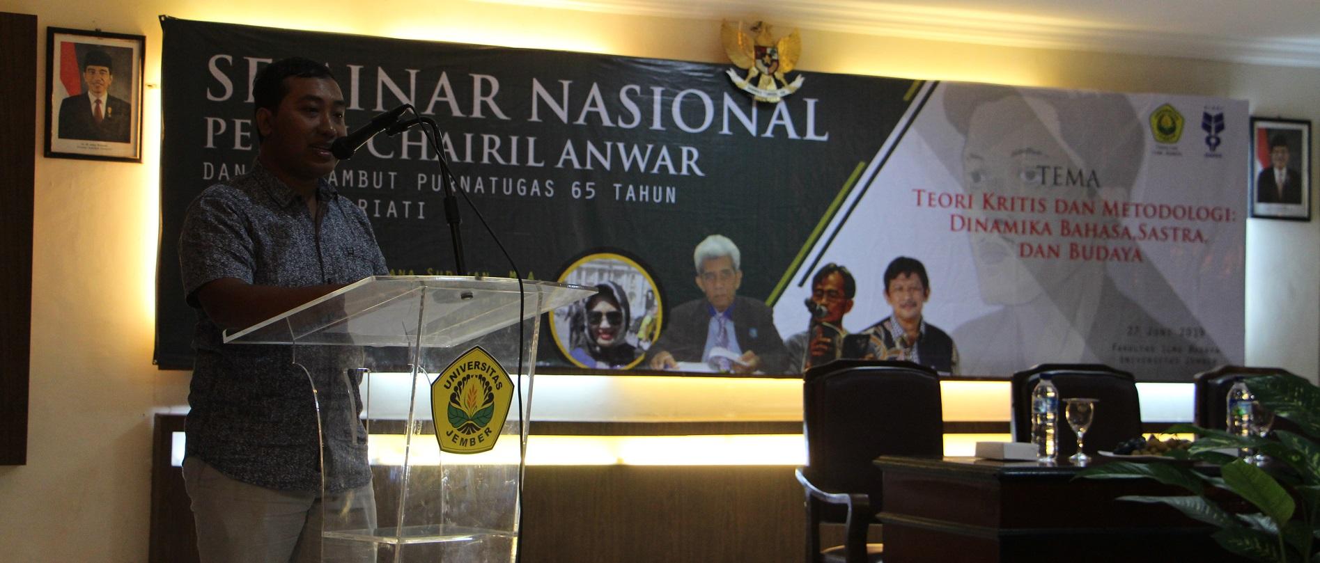 Pekan Chairil Anwar: Lima Pribadi yang Harus Dihormati