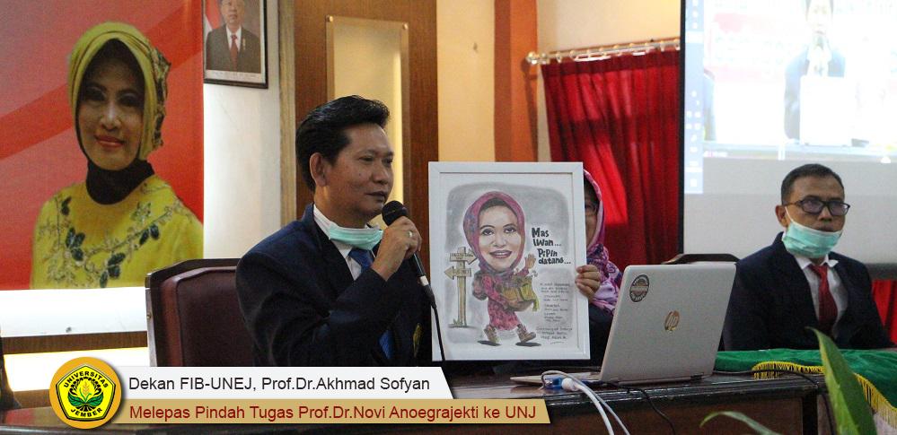 Dekan FIB Dengan Berat Melapas Prof. Novi Anoegrajekti Pindah ke UNJ